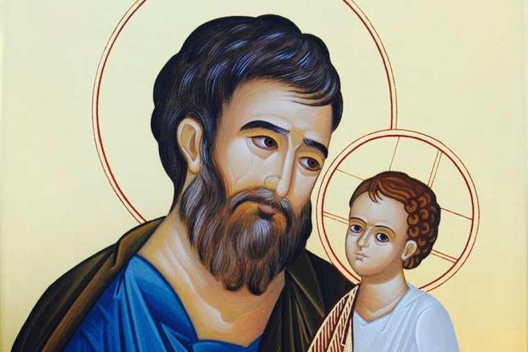 sv. Josip i Isus